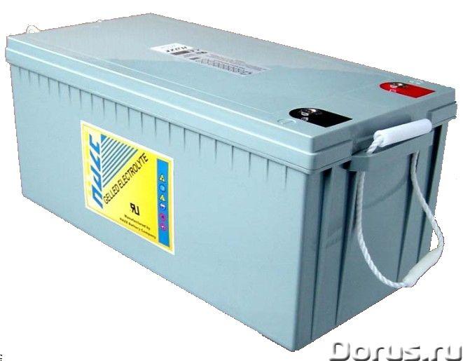 Необслуживаемые гелевые и AGM аккумуляторы - Промышленное оборудование - Компания ИК ЭнергоПартнер р..., фото 1